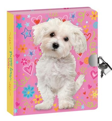 Doodle Dog, Lock and Key Diary  -