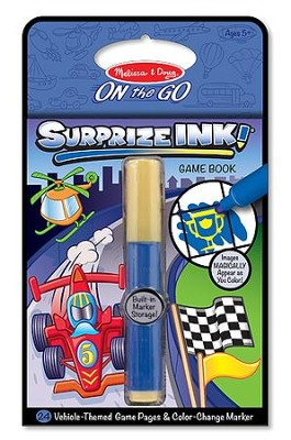SurprizeINK!, Vehicles, On the Go Activity Book  -