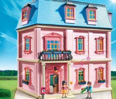 Deluxe Dollhouse Playset  -