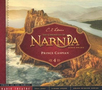 Prince Caspian: Radio Theatre--CDs    -     By: C.S. Lewis, Paul McCusker