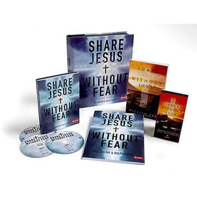 Share Jesus Without Fear, DVD Leader Kit  -     By: William Fay, Ralph Hodge