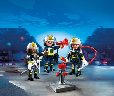 PLAYMOBIL ® Fire Rescue Crew Playset   -