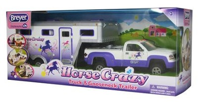 Horse Crazy Truck and Trailer, Stablemates Size  -