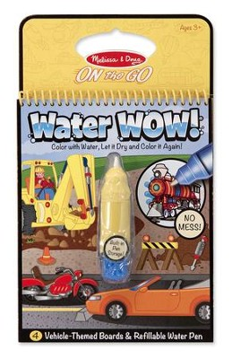 Water Wow! Vehicles  -