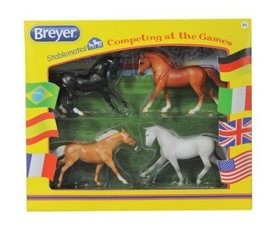 Stablemates Competing At The Games, 4 Pieces  -