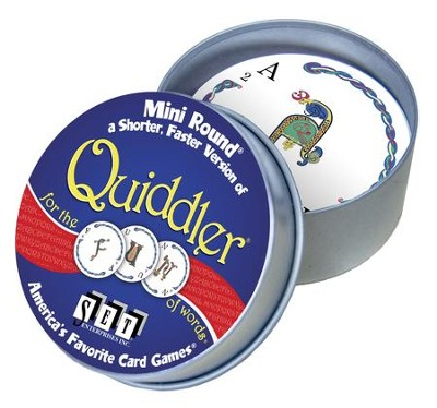 Quiddler Mini Round  -