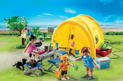 PLAYMOBIL ® Family Camping Trip   -
