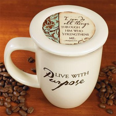 Live with Purpose Mug and Coaster  -