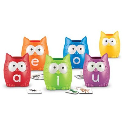 Vowel Owls, Sorting Activity Set  -