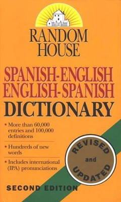 Random House Spanish-English\English-Spanish Dictionary   -     By: Margaret Raventos, David Gold