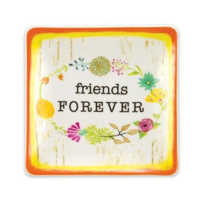 Friends Forever Trinket Tray  -
