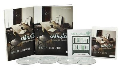 Entrusted DVD Leader Kit: A Study of 2 Timothy   -     By: Beth Moore