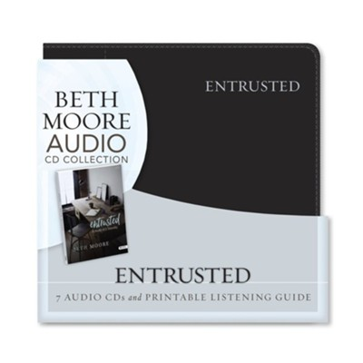 Entrusted Audio CD Set: A Study of 2 Timothy   -     By: Beth Moore