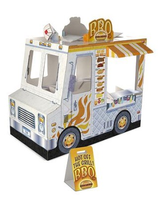 Food Truck Indoor Playhouse  -