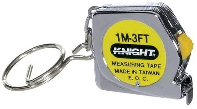 Tape Measure Keychain  -