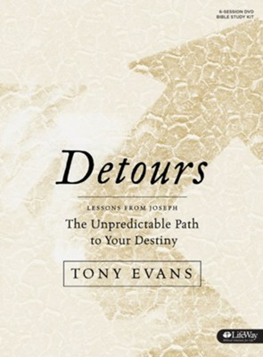 Detours DVD Leader Kit: The Unpredictable Path to Your Destiny  -     By: Tony Evans