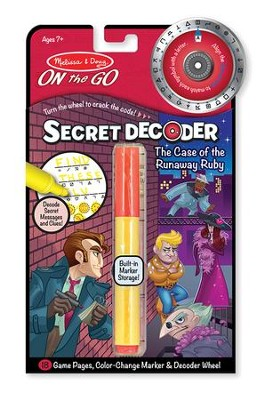 Case of the Runaway Ruby, Secret Decoder Activity Kit  -