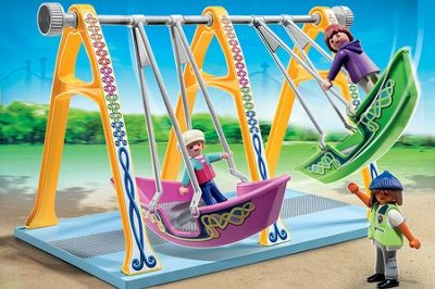 PLAYMOBIL ® Boat Swings Playset   -