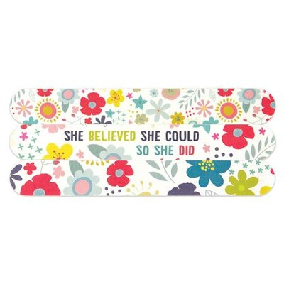 So She Did Emery Boards, Pack of 3  -