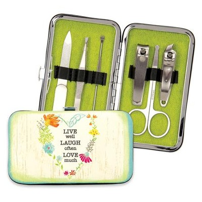 Live, Laugh, Love Manicure Set  -