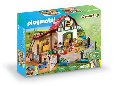Playmobil Pony Farm Playset  -