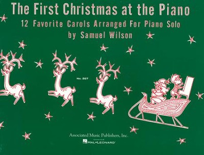 The First Christmas At the Piano (Easy Piano Solo)   -