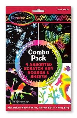 Scratch Art Combo Pack  -