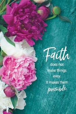 Faith Does Not Make Things Easy Plaque  -