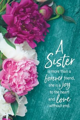 A Sister Is More Than a Forever Friend Plaque  -
