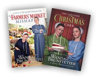 Farmers' Market Mishap & Lopsided Christmas Cake, 2-Pack   -     By: Wanda E. Brunstetter, Jean Brunstetter
