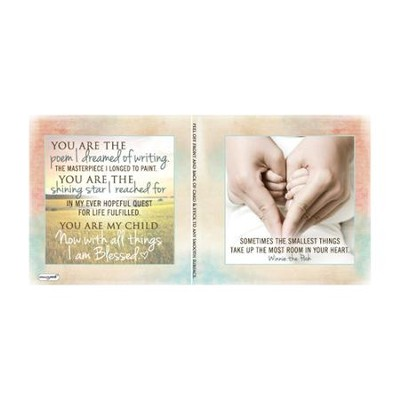Blessed, Baby Notecard Sticker   -