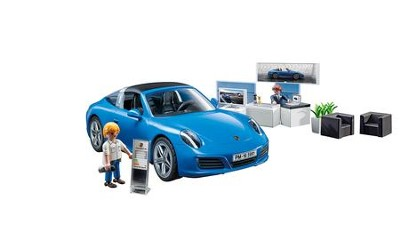 PlayMobil Porsche 911 Targa 4S with Accessories  -