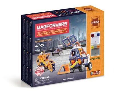Magformers XL Double Cruiser, 42 Piece Set  -