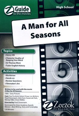 A Man for All Seasons Movie Guide CD Z-Guide to the Movies  -