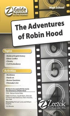 Adventures of Robin Hood Movie Guide CD Z-Guide to the Movies  -