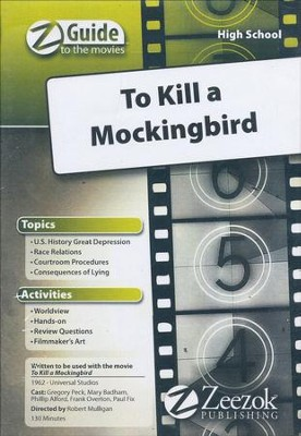 To Kill a Mockingbird Movie Guide CD Z-Guide to the Movies  -