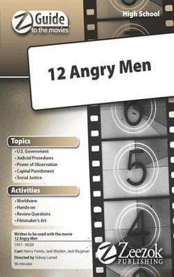 12 Angry Men Movie Guide CD Z-Guide to the Movies  -