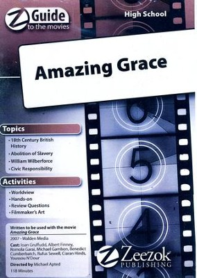 Amazing Grace Movie Guide CD Z-Guide to the Movies  -