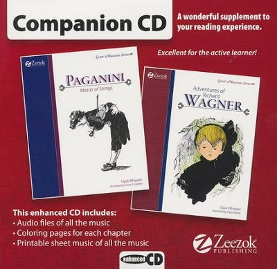 Paganini/Wagner Companion CD   -     By: Opal Wheeler