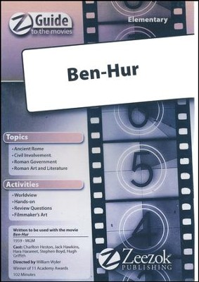 Ben Hur Elementary Movie Guide CD Z-Guide to the Movies  -