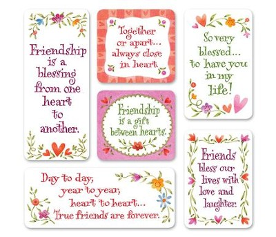 Love Friendship Magnets, Set of 6  -