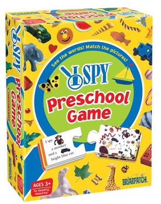 I SPY Preschool Game  -