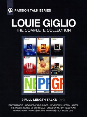 Passion Talk Series: The Complete Collection, DVD Set   -     By: Louie Giglio