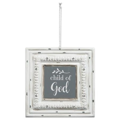 Child Of God Tin Sign  -