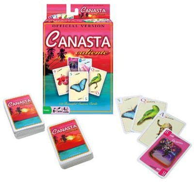 Canasta Caliente, Card Game  -