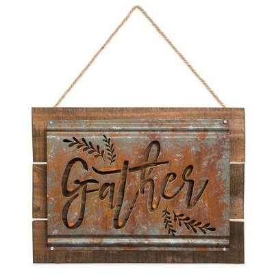 Gather Acid Wash Sign  -