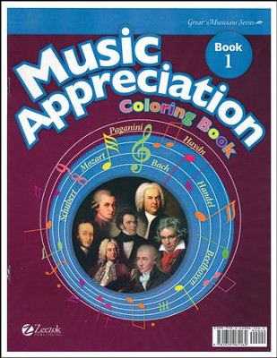 Music Appreciation: Book 1 for Elementary Grades, Coloring Book  -