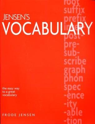 Jensens vocabulary frode jensen 9781886061453 christianbook jensens vocabulary by frode jensen fandeluxe Image collections