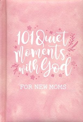 101 Quiet Moments With God Giftbook, Pink  -