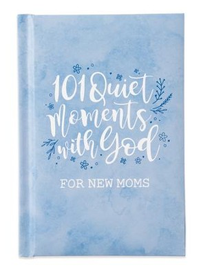 101 Quiet Moments With God Giftbook, Blue  -